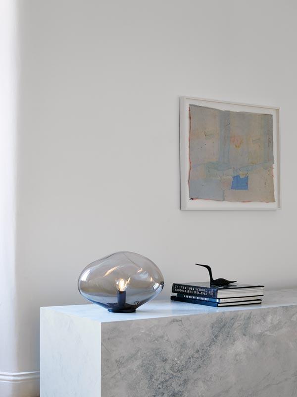 ELOA Unique Lights HAUMEA AMORPH Tischleuchte Glas