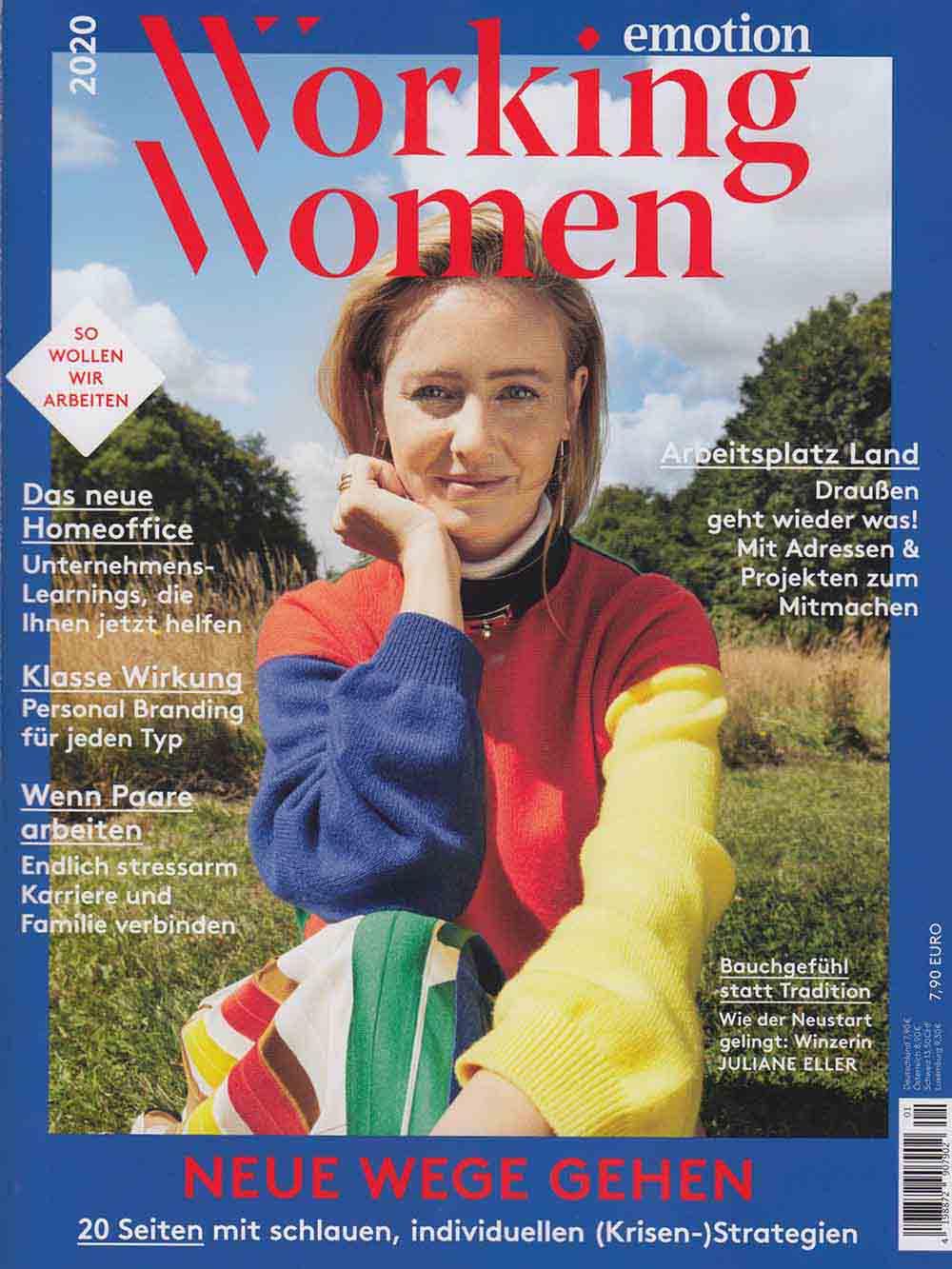 ELOA UNIQUE LIGHTS emotion - Working Women_2020_Cover
