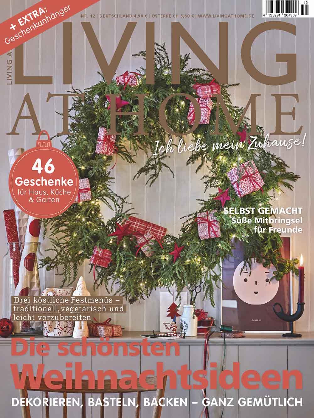 ELOA UNIQUE LIGHTS Living at Home_12-20_Cover