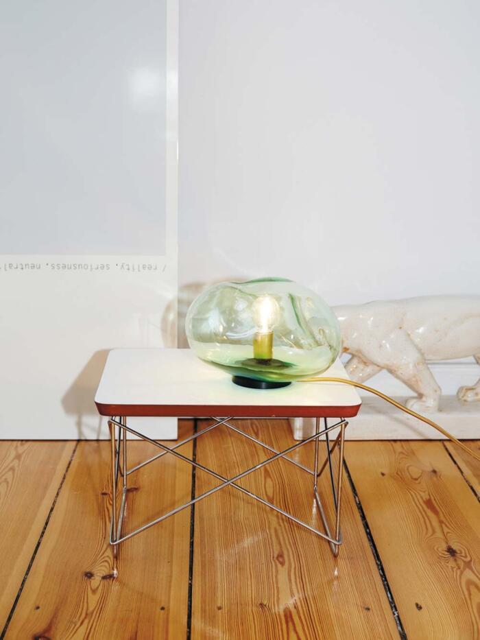 ELOA FLORA Bodenleuchte Glas