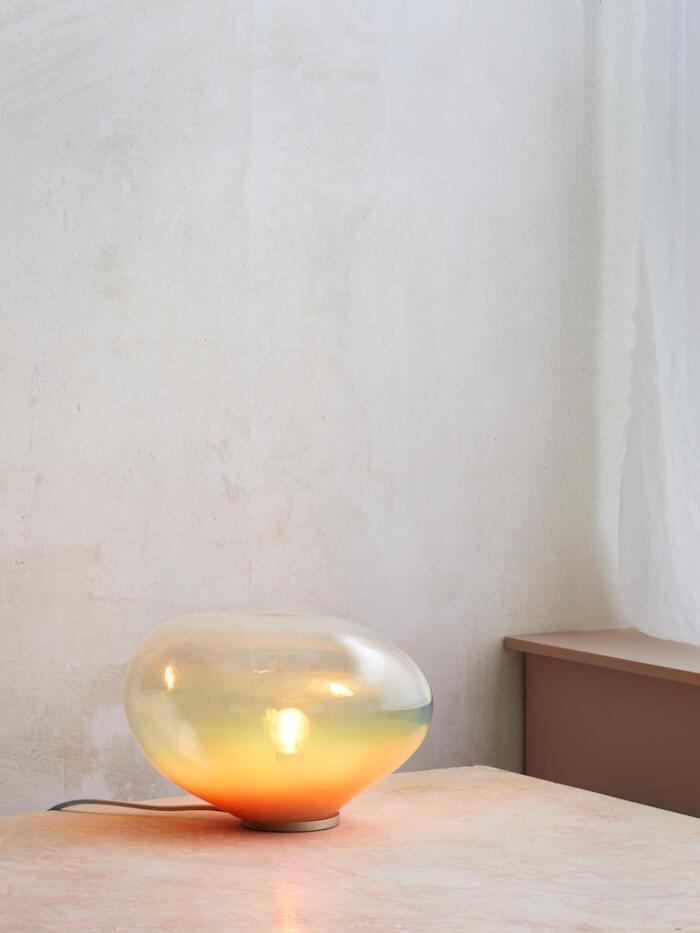 ELOA SEDNA Tischleuchte Glas